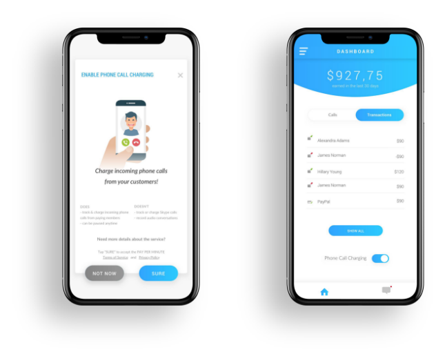 Pay Per Minute - Mobile App Development Agency | iOS and